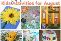 August Aktivities for Kids