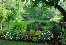 Garden ♥ Flowers Bed ★ / Zahrada * Květinové Záhony
