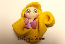 Polymer princesses and dolls