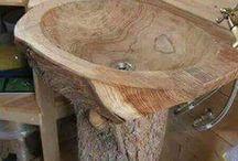 Puu lavuaari