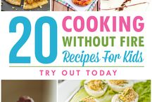 """20 cooking without fire """"recipes for kids"""""""