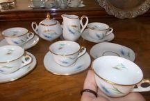 miniature tea set vintage / Ξεχωριστά Vintage αντικείμενα σε άριστη κατάσταση..