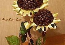 Drzewka ozdobne / Drzewka z kawy ,kwiatów itp.