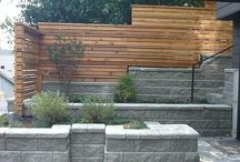 modern/ top fences
