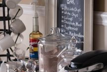 Food: Hot Cocoa Bar or Coffee Bar / by Christina@TheFrugalHomemaker.com