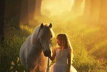Tyttö ja Hevonen
