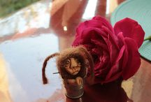 TOUS DOUX ou laine feutrée / je crée les figurines et les accessoire en laine feutrée qui sont disponibles dans ma boutique  www.chezlapetitesouris.alittlemarket
