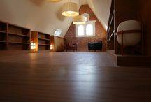 lamps and spaces / our project in Italy for luxury private house - biblioteca