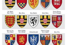 coats of arms, flags, banners