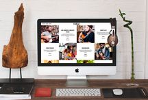 Webdesign / Selection of webpages we created