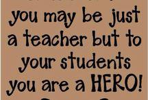Teacher gift ideas, quotes etc
