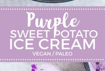 vegan ice cream and other yummy sweets