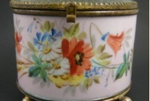 A Decorative Bouquet / From handkerchiefs to jewelry caskets, decorative pitchers and plates, and more, this gathering of flowers was picked fresh from Flashback Alley! / by Flashback Alley