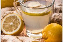 Acqua allo zenzero e limone per dimagrire