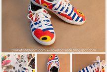 Ayakkabı boyama / Boya