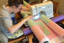 Quilt with PCV