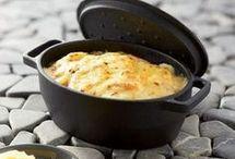 Cassolettes de pommes de terre et saumon fumé