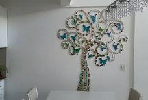 Bricolage - Diy en vidrio Mosaico Espejo