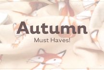 Autumn Must Haves