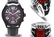 Saat ve Gümüş Yüzük Kombin / Saat ve Gümüş Yüzük Kombin
