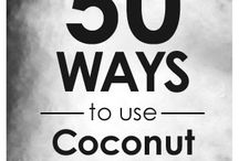 coconut oil uses / by Raemia Robinson