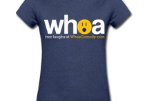 T-Shirts From Whoa / Pickup a t-shirt and help support us make more videos.  / by Whoa Comedy