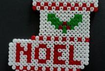 Noël perles hama