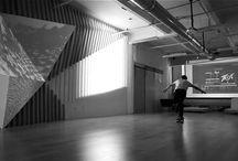 architectural interior spaces