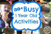 Baby/Toddler Activities / Games and activities for babies and toddlers up to 3 years of age. Indoors and outdoors.