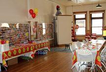 Fire Truck Birthday Party / Fire Truck Birthday Party