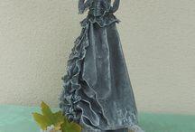 fabric sculpting