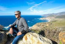 Steven Cox Instagram Photos I'm lovin' me some California!  #sunshine #californialove #bigsur #landscape