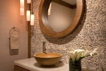 Bathrooms / Spa-like oasis to soothe the body