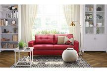 My living room sofa / By fabfurnish