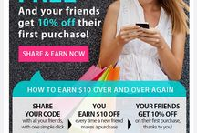 Awesome Templates from Our Retailers / by ReferralCandy - Automated Referral Program
