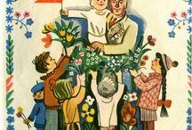 советские иллюстрации книжек
