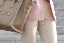 light pink blazer outfits