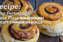 Sourdough and Fermentation / sourdough bread recipes and fermented foods