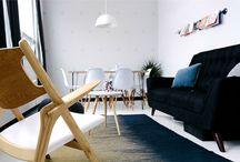 Style scandinave / Retrouvez dans ce tableau toutes les inspirations de style scandinave qui nous ont tapé dans l'oeil !