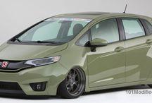 Modified Honda Fit/Jazz (3rd generation)