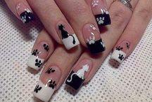 Cats -> Nail Arts