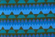 Muster und Farben