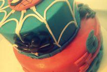 Cake: Spider Man