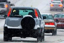 Winter Driving / Winter can be a precarious time for drivers with all the snow and ice but with these winter driving tips and tricks, you're sure to make it through the season. We share how to prepare for a winter driving emergency, reminders to keep up with your winter car maintenance, tips to keep your windshield clear, and what to do when your car heater isn't working.