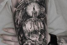 Tetování skull