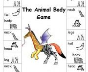 animal body game