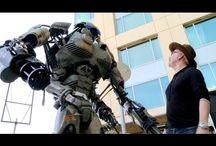Comic-Con Giant Robot / San Diego comi-con giant robot. / by Stan Winston School