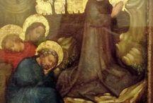 Cristo nell'Orto degli Ulivi / Maestro di St. Lambrecht - Cristo nel monte degli Ulivi (1410-30)