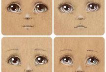 глазки рисуеи