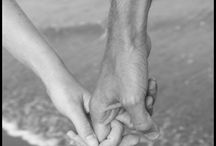 """I wanna hold your hand... / """"Touch comes before sight, before speech. It is the first language and the last, and it always tells the truth."""" – Margaret Atwood, The Blind Assassin"""